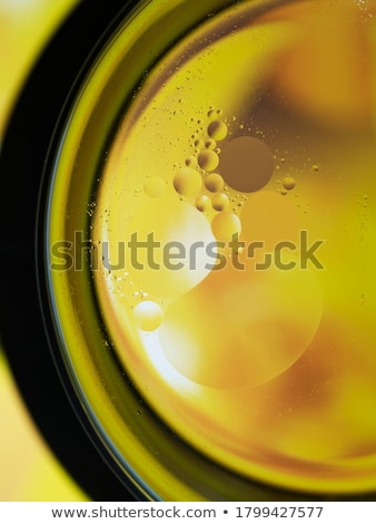 abstract backgrounds oil babbles on water abstraction macro stock photo © artfotodima