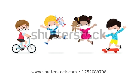 Childhood Protection Stock photo © Lightsource