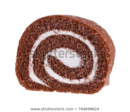 slices of cream swiss roll stock photo © digifoodstock