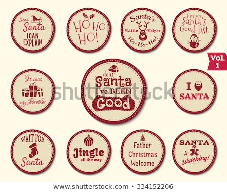 christmas funny signs quotes backgrounds designs for kids   loading bar love santa xmas is coming stock photo © jeksongraphics