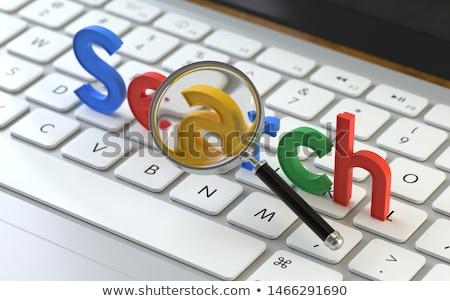 klavye · web · trafik · düğme · beyaz · bilgisayar · klavye - stok fotoğraf © tashatuvango
