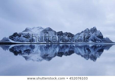 Paisagem montanhas água Islândia surpreendente ver Foto stock © Kotenko