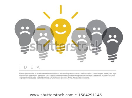Idea - minimalist concept ilustration Stock photo © orson