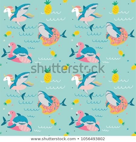 Angry Cartoon Flamingo Stock photo © cthoman