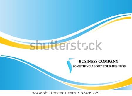 Vector moderna gradiente ondulado línea sitio web Foto stock © blumer1979