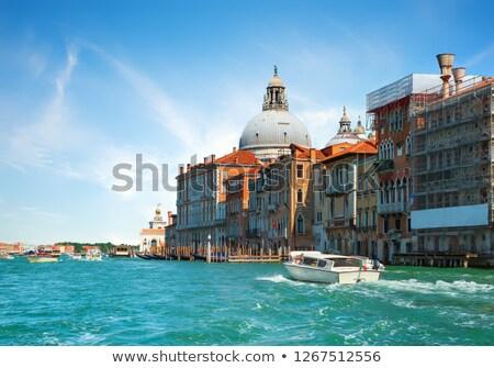 pier · basilique · bateaux · ciel · bâtiment - photo stock © givaga