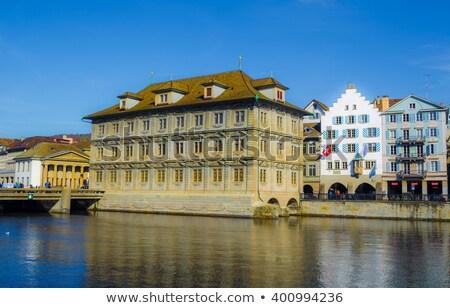 チューリッヒ 市 ホール 詳細 スイス 建物 ストックフォト © boggy
