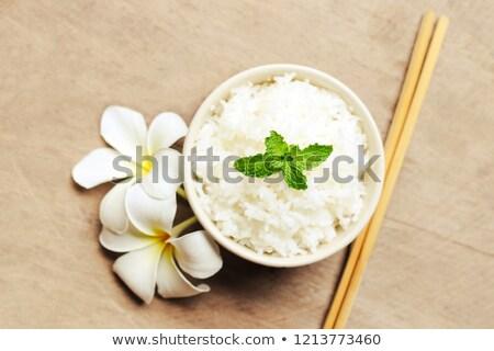 басмати · риса · небольшой · продовольствие - Сток-фото © hitdelight