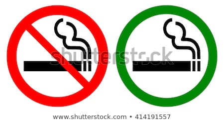 No smoking sign. smoking is not permitted. Vector illustration i Stock photo © kyryloff