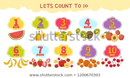 Lets count to 10  Stock photo © bluering