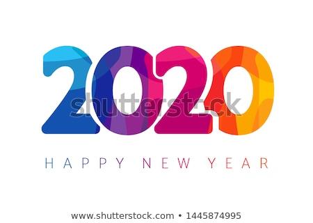 Icon calendar 2020 year #2 Stock photo © Oakozhan