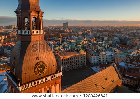 Dome square, Riga Stock photo © borisb17