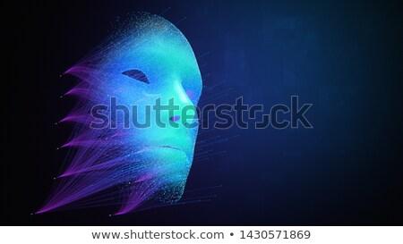 Stock fotó: Mély · hamisítvány · technológia · mesterséges · intelligencia · arculat · hírek