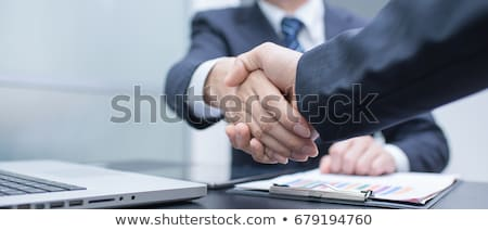 Business Deal, Agreement of Companies Contract Stock photo © robuart