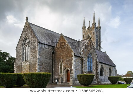 Szent templom Dublin Írország temető utazás Stock fotó © borisb17
