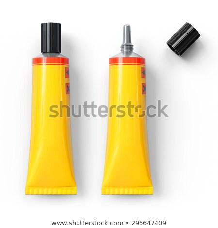 Stock photo: glue tube