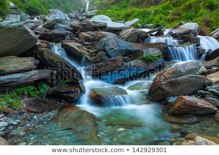 滝 インド カスケード 水 岩 石 ストックフォト © dmitry_rukhlenko