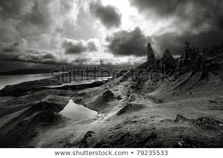 Foto stock: Dramático · paisagem · terras · altas · da · escócia · cena · escócia