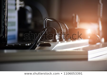 Power plug wire Stock photo © cienpies