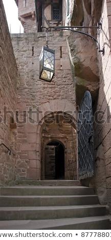 Stairway At Haut Koenigsbourg Castle Photo stock © PRILL