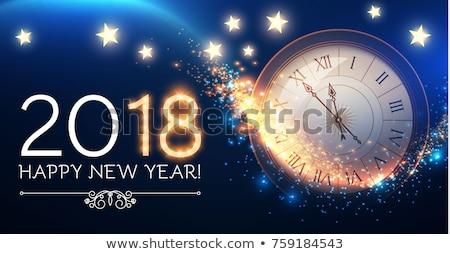 antique gold clock stock photo © witthaya