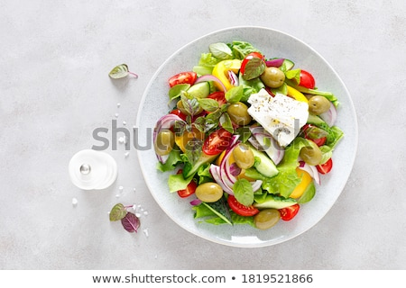 bell pepper salad stock photo © joker