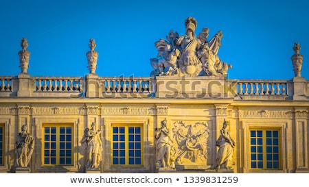 statue and facade Stock photo © prill