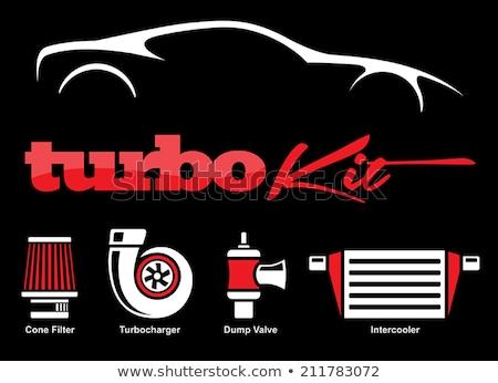 Cars silhouettes part 1 Stock photo © lkeskinen