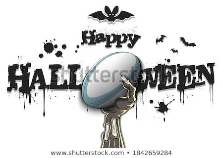 Funny Monster. Rugby. Stock photo © RAStudio