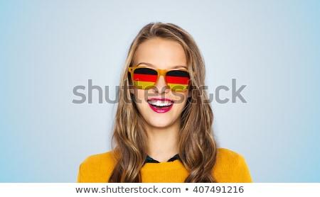 Pretty girl in german style Stock photo © Aikon