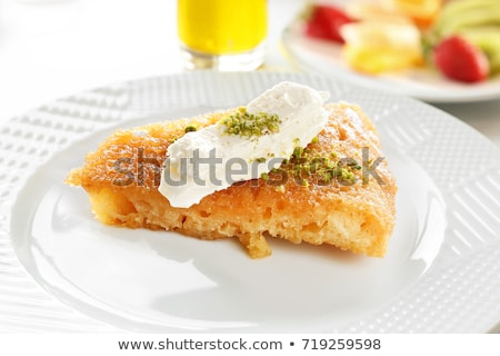 Türk tatlı geleneksel ekmek hizmet tok Stok fotoğraf © ozgur
