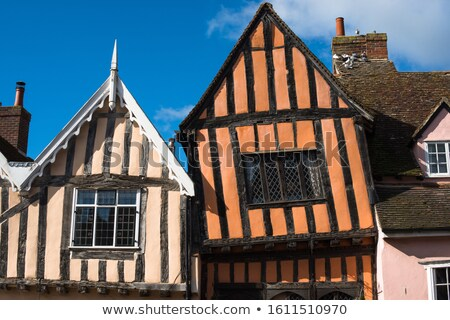lavenham high street stock photo © trgowanlock