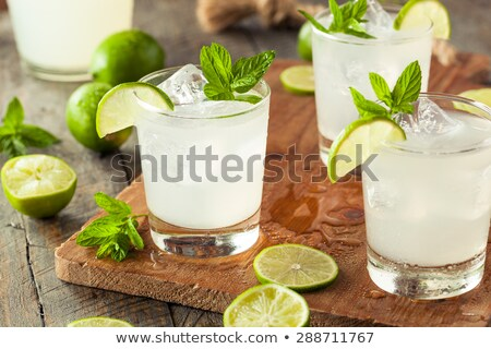 Glass of Limeade Stock photo © raptorcaptor