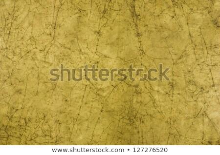 Brown Green Batikpaper Photo stock © Zerbor