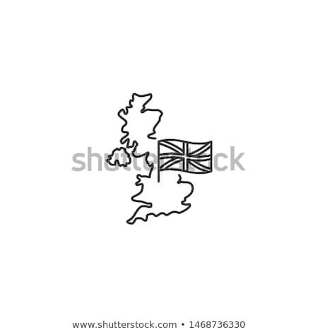 Icône bâtiment tour Angleterre scratch Londres Photo stock © Myvector