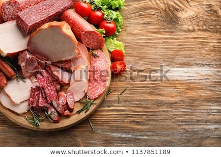 sausage cuts Stock photo © DimaP