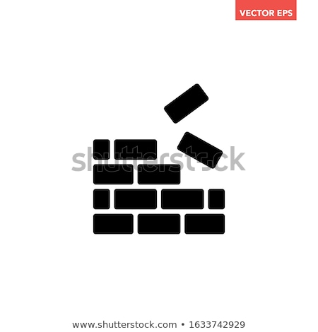 black drop building icons stock photo © sergeyt