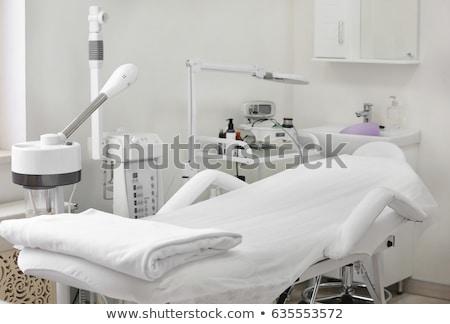 タトゥー サロン インテリア 像 頭蓋骨 壁 ストックフォト © ifeelstock