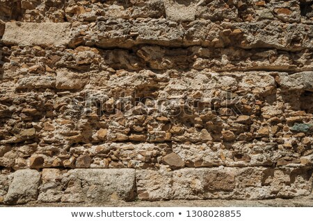 Vecchio muro pietra oggetti natura casa Foto d'archivio © scenery1