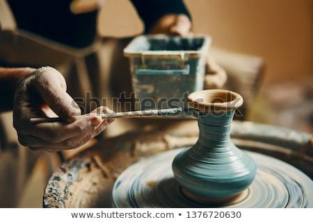 vazo · üst · sanatçı · çanak · çömlek · biçim · yaratıcılık - stok fotoğraf © haraldmuc