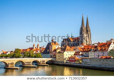 Regensburg Stock photo © prill