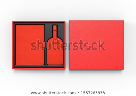 red travel case and passports  stock photo © luapvision