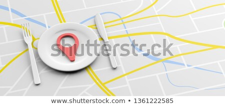 Restaurant Location Stock photo © Lightsource