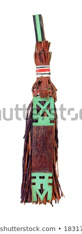 Traditional leather tassel used by Tuaregs in Mali, Africa Stock photo © sarahdoow