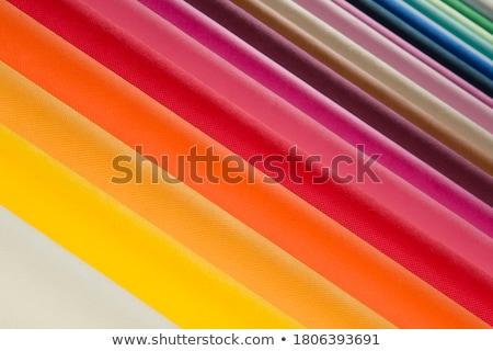 weefsel · variatie · full · frame · abstract · Rood - stockfoto © gemenacom