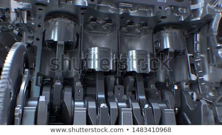 Valf dişli ayrıntılar teknoloji Metal seyahat Stok fotoğraf © eleaner