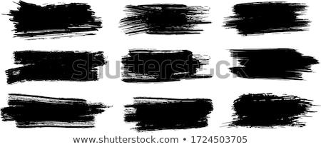 vector · salpicaduras · pintura · resumen · blanco · establecer - foto stock © romvo