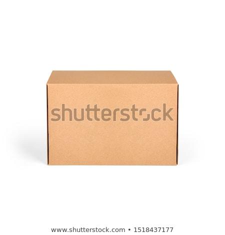 Paperboard box Stock photo © vtls