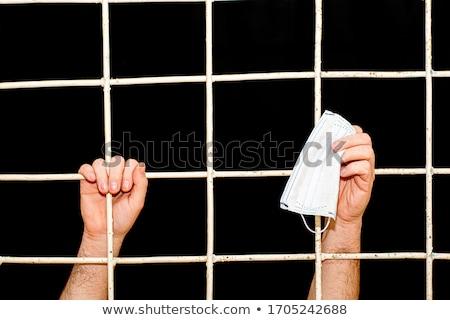 prisão · célula · imagem · dentro · velho - foto stock © bigalbaloo