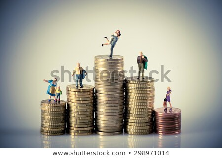 moedas · papel · casa · compras · assinar - foto stock © kirill_m